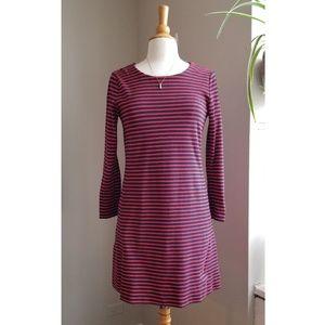 Madewell | NWOT Striped Nautical Long Sleeve Dress